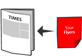 Flyers Media flyers insertion service, insert flyers into newspaper across Malaysia